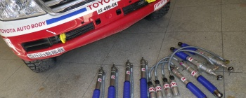 KYB AND TOYOTA AUTO BODY TACKLE DAKAR